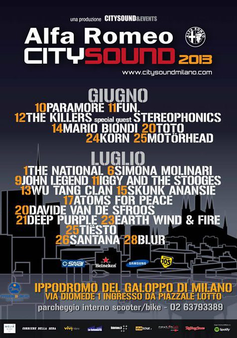 ALFA ROMEO CITY SOUND 2013